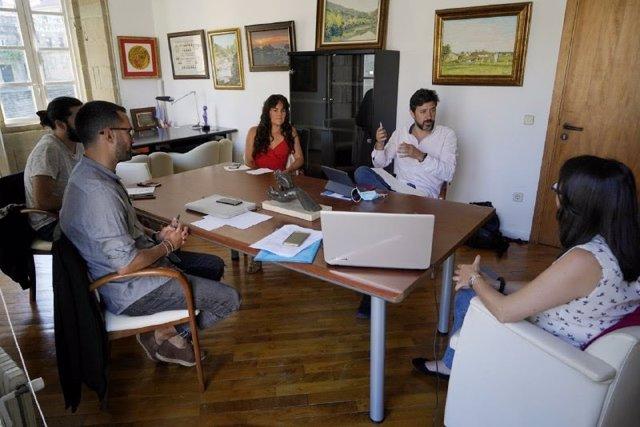 Reunión de Galicia En Común-Anova Mareas e InvestiGAL