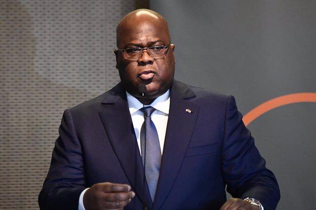 Coronavirus.- El presidente de RDC prorroga 15 días el estado de emergencia a ca