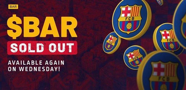Bitcoin del FC Barcelona
