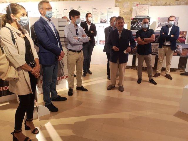 """Inauguración de la exposición """"140 años de progreso"""" en Ávila."""