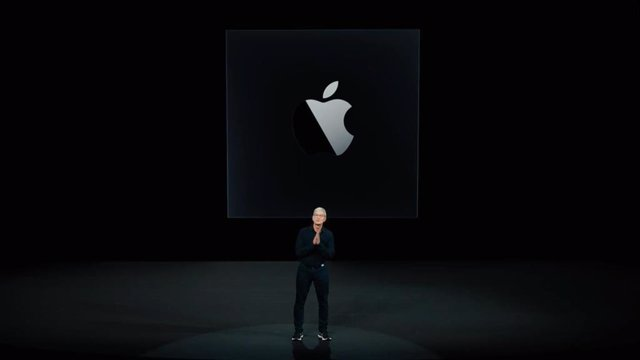 Logo de Apple Silicon.