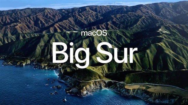 Logo de macOS Big Sur.