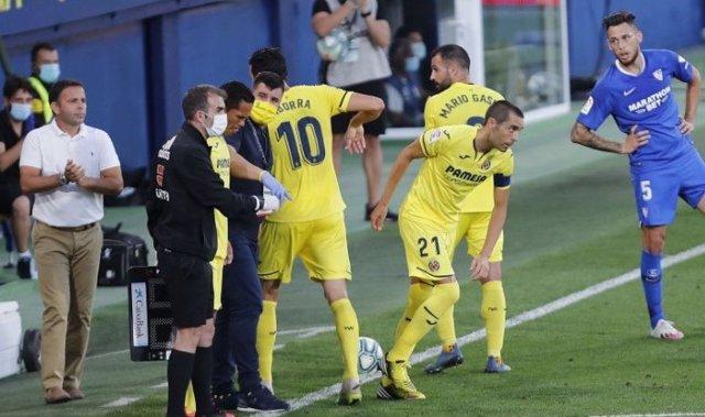 Bruno Soriano vuelve a jugar con el Villarreal