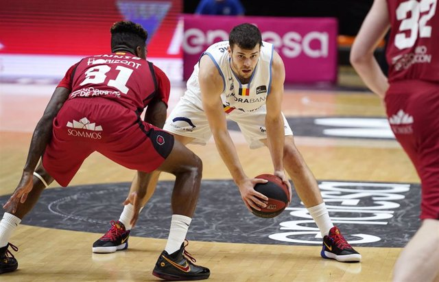 Dejan Todorovic en el Casademont Zaragoza-MoraBanc Andorra