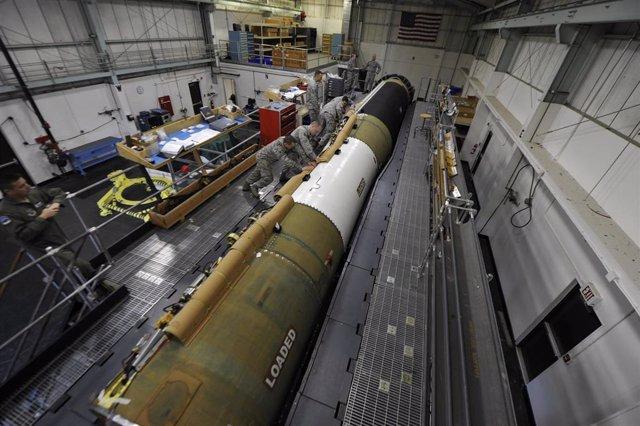 Misil nuclear intercontinental de Estados Unidos