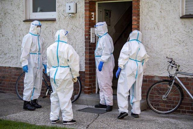 Coronavirus.- Alemania sitúa el balance diario de coronavirus en 503 casos y die