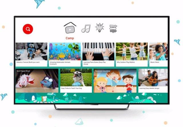 Campamento de verano digital en Youtube Kids