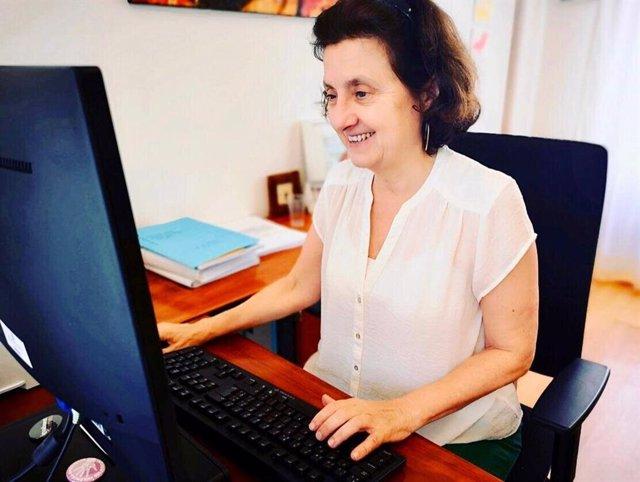 La consellera de Asuntos Sociales y Deportes, Fina Santiago
