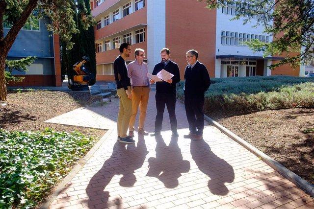 Investigadores Del Grupo TENECO De La Universidad De La Rioja