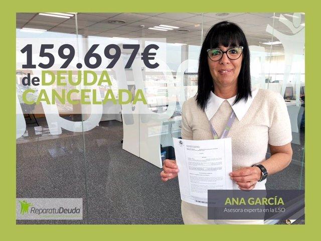 COMUNICADO: Repara tu Deuda Abogados cancela una deuda de 159.687 € en Mallorca