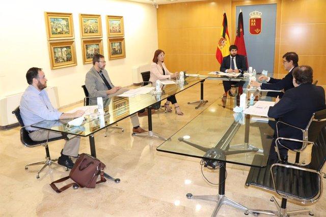 AV.- Coronavirus.- Asciende a 17 el número de contagiados en Murcia por el brote