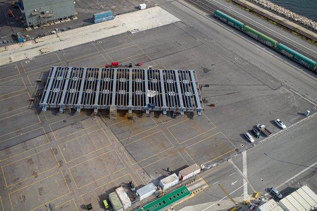 Project Cargo de Urssa en el Port de Tarragona
