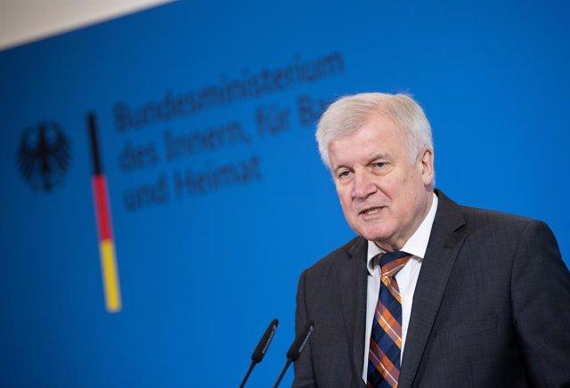 Horst Seehofer, ministre d'Interior d'Alemanya.