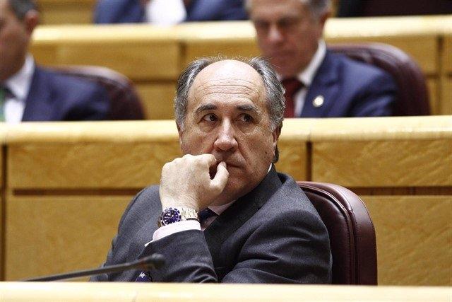 José Ignacio Landaluce, alcalde de Algeciras, en una imagen de archivo.