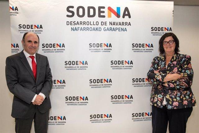 Manu Ayerdi y Pilar Irigoien