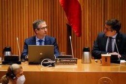 El gobernador del Banco de España, Pablo Hernández de Cos, ante la Comisión para la reconstrucción social y económica