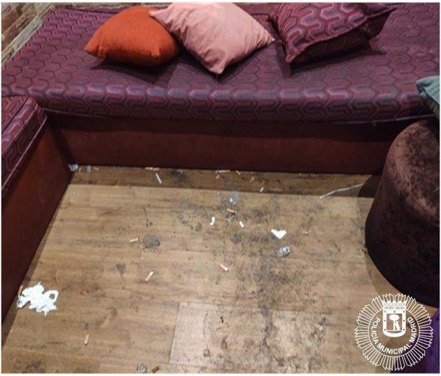 Desalojan en Tetuán un 'after hours' sin autorización donde se consumía drogas