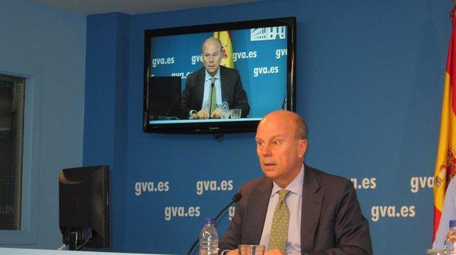Máximo Buch, conseller de Economía, Industria, Turismo y Empleo.