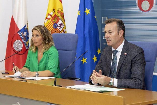 Guillermo Blanco y Marta López