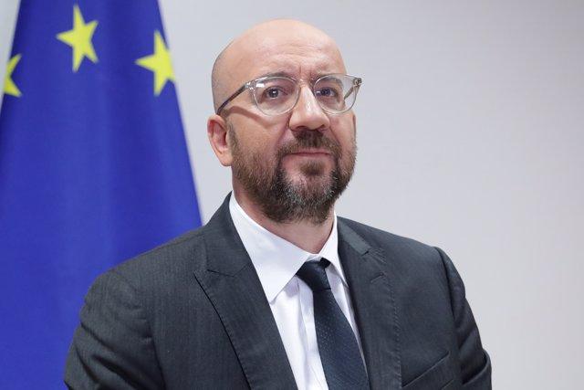 19 Junio 2020, Bélgica, Bruselas: El presidente del Consejo europeo, Charles Michel. Foto: Dario Pignatelli/EU Council/dpa