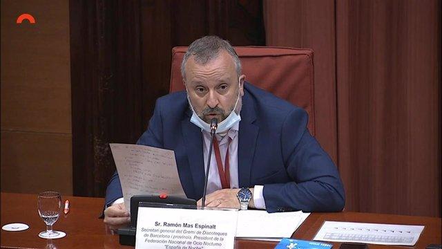 El secretario general del Gremi de Discoteques de Barcelona, Ramón Mas.