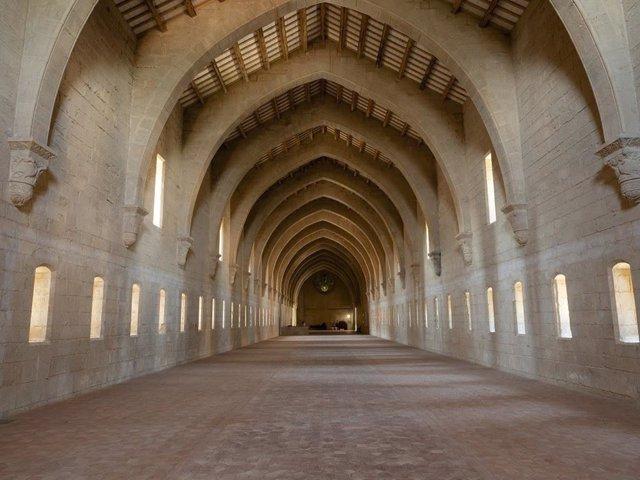 Coronavirus.- El monasterio de Poblet (Tarragona) reabre sus visitas turísticas
