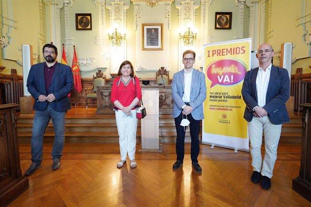 Presentación de los premios Ingenia Valladolid.