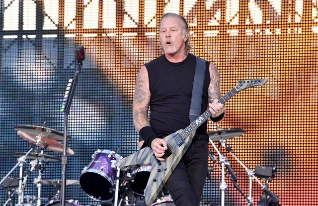 James Hetfield de Metallica