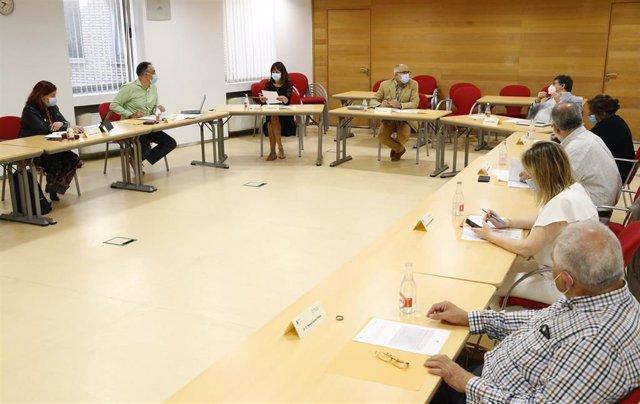 Reunión Fundación Marqués de Valdecilla