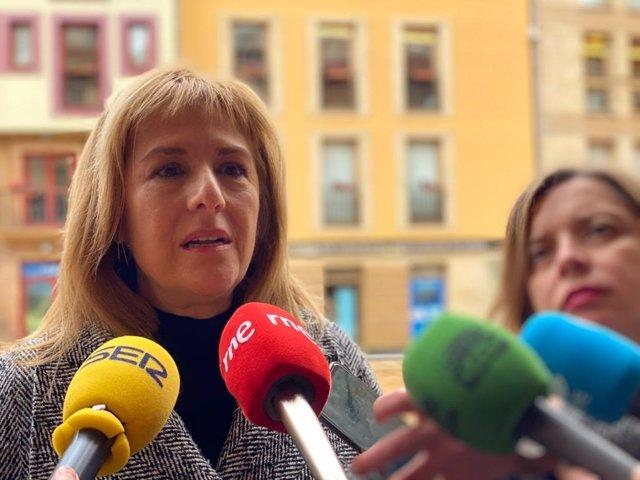 Concejala del PSOE en el Ayuntamiento de Oviedo, Marisa Ponga.