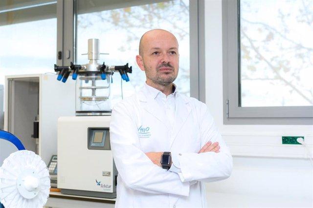 El investigador principal del Grupo de Oncología Molecular del Vhio, Paolo Nuciforo