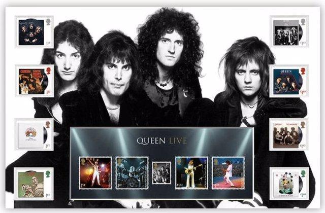 Sellos de Queen