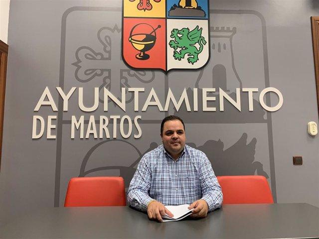 El alcalde de Martos, Víctor Torres
