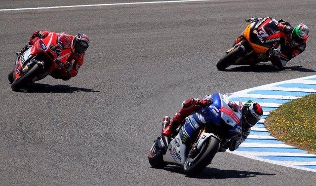 Motos GP en el Circuito de Jerez