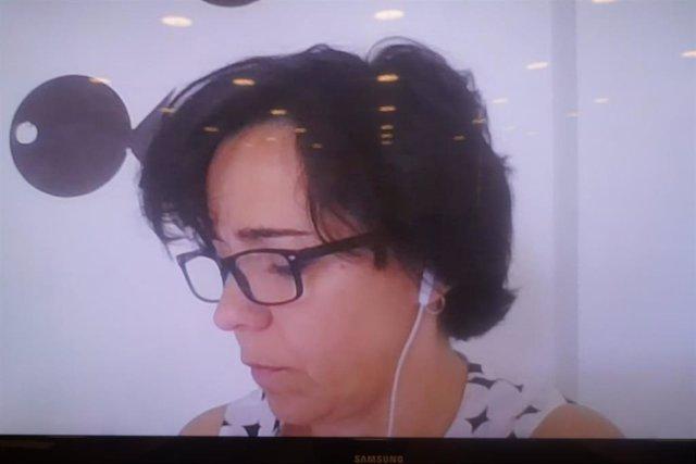 Comparecencia por videoconferencia de Ana Herrero, doctora en Economía de la Universidad Complutense de Madrid