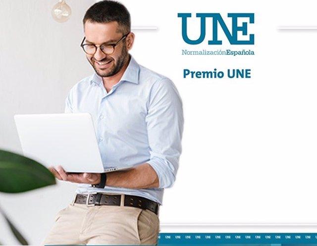 Cartel de los Premios UNE 2020