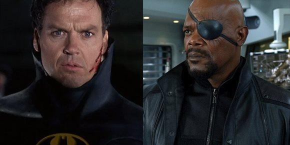 1. El Batman de Michael Keaton será el Nick Fury de DC, el gran mentor del multiverso