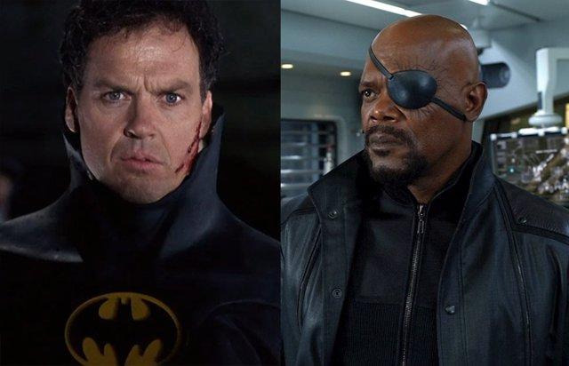 El Batman de Michael Keaton se convertirá en el Nick Fury de DC Comics