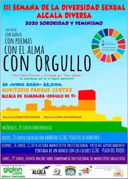 Alcalá de Guadaíra (Sevilla) celebra la III Semana de la Diversidad Sexual con diversas acciones de concienciación y reivindicativas
