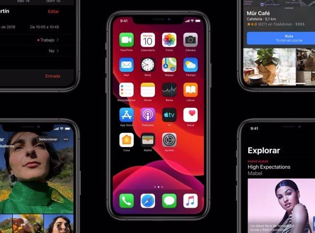 iOS 13 ya está presente en el 92% de los iPhones de menos de cuatro años