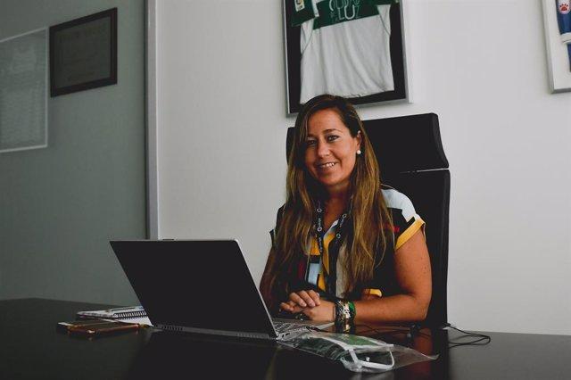 Fútbol. La Directora General del Elche Patricia Rodríguez, primera mujer que ocu