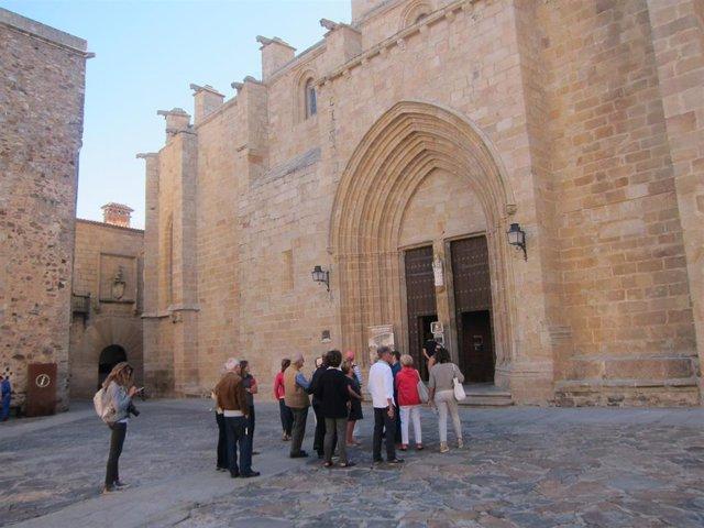 La concatedral de Cáceres reabre al turismo