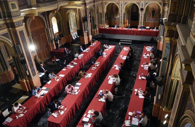 Pleno de la Diputación de Valencia del mes de junio