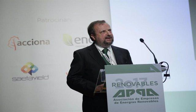 El presidente de APPA Renovables, José Miguel Villarig