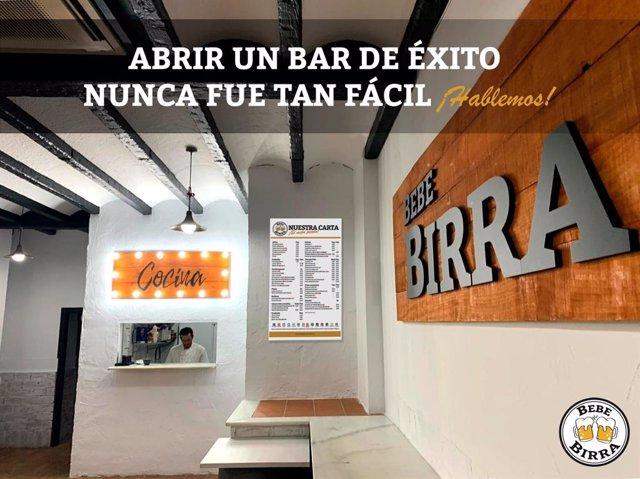 COMUNICADO: BebeBirra, una nueva marca de franquicias de bares y cervecerías que