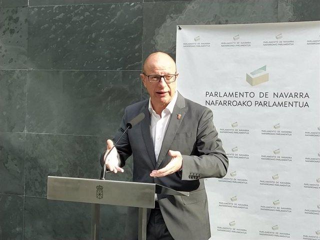 Carlos Gimeno, consejero de Educación del Gobierno de Navarra.