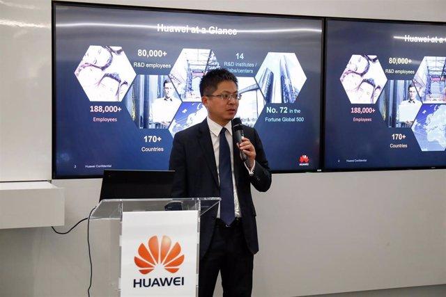 El consejero delegado de Huawei en España, Tony Jin Yong