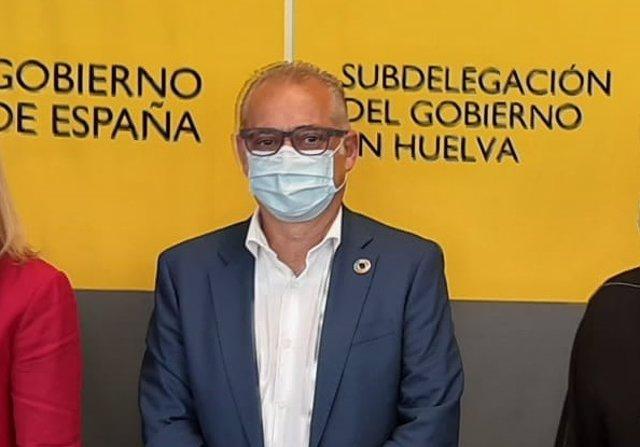 El presidente de la CHG, Joaquín Páez.