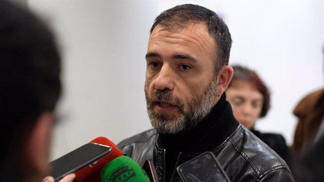 El concejal de Más Madrid Nacho Murgui.