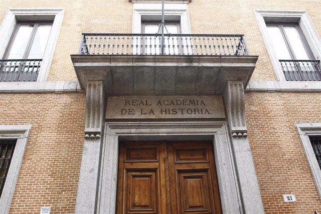 Sede de la Real Academia de la Historia en Madrid